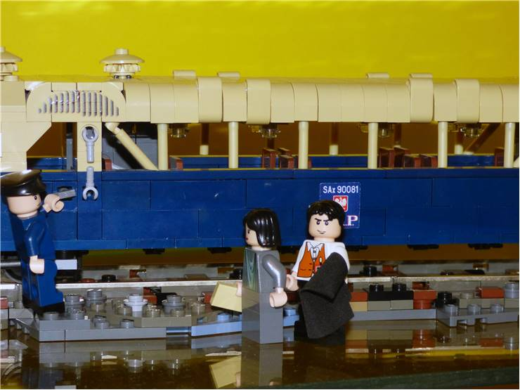 Lego Railway Train