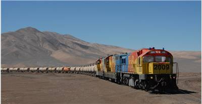Long Train Chile